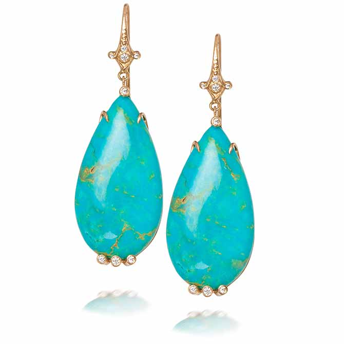 Just Jules turquoise earrings