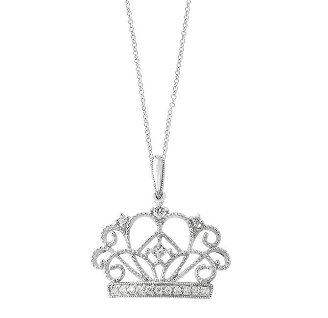 Effy tiara diamond pendant