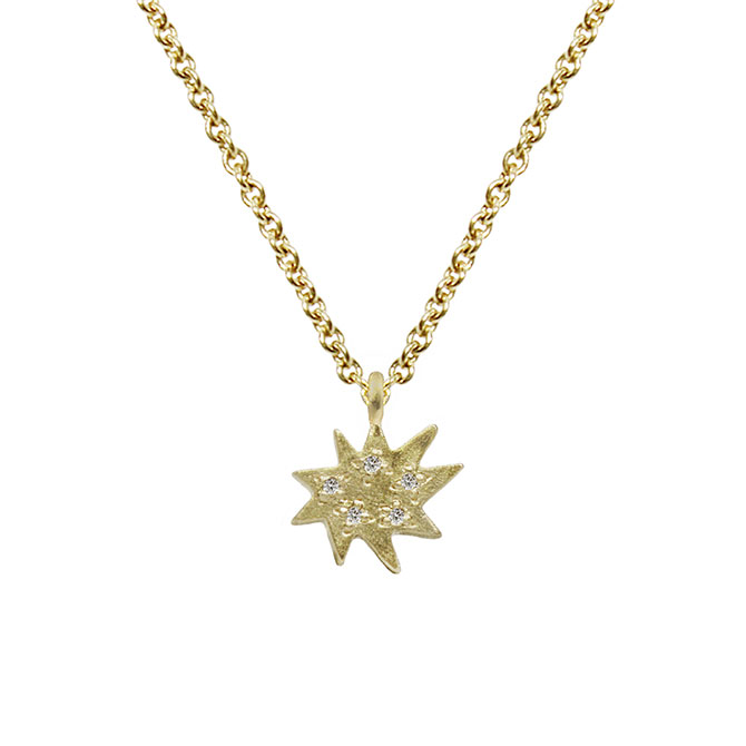 Emily Kuvin Mini Stella Necklace