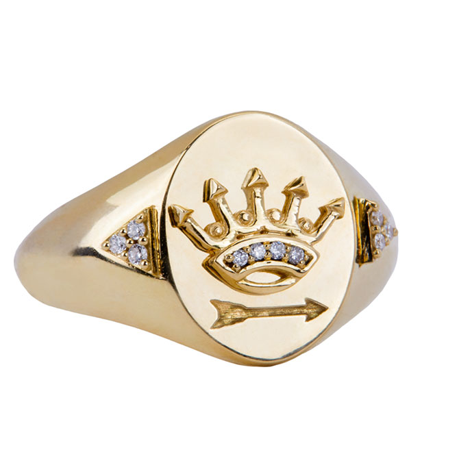 Foundrae Dream signet ring