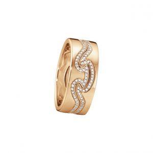 Georg Jensen Fusion ring in 18k rose gold