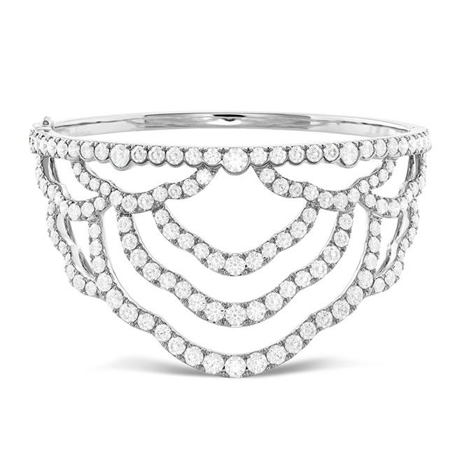 Hearts On Fire diamond cuff