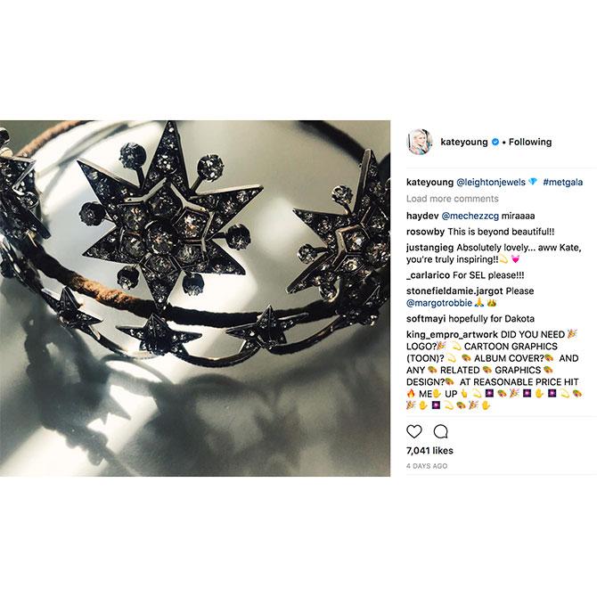 Instagram MetGala KateYoung