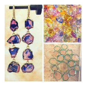 Lauren K pink ink sapphires and loose stones