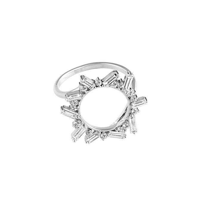 Meredith Young Controlled Chaos Open Circle Ring