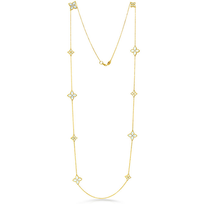 Roberto Coin mother of pearl necklace