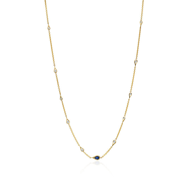 Marie Canale drop station necklace