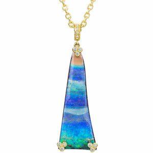 Opal pendant Lauren K