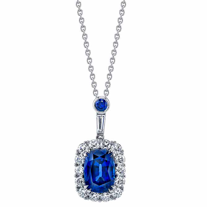 Omi Prive sapphire pendant