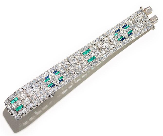 Provident art deco bracelet