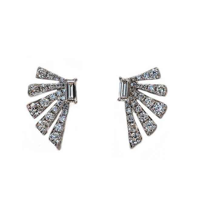 Ri Noor Diamond Earrings