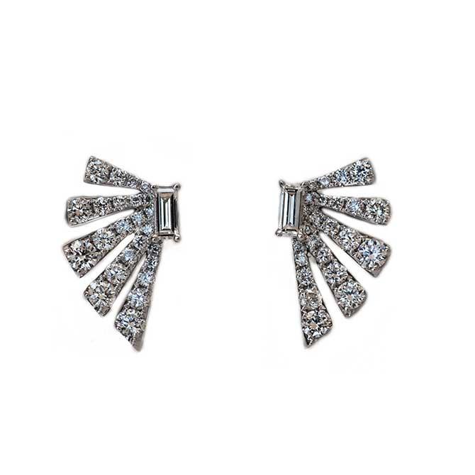 Ri Noor Diamond Earrings