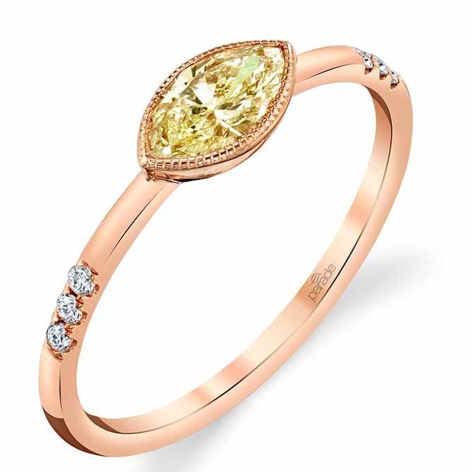 Parade Design yellow diamond ring