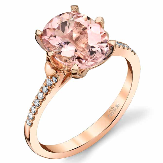 Parade Design morganite ring