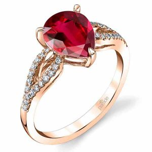 Parade Design rubellite ring