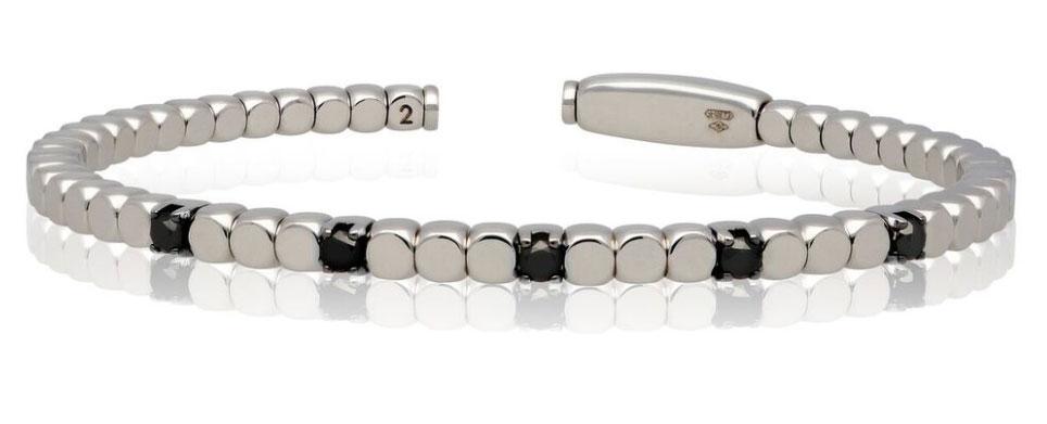 Roberto Demeglio Dado silver bracelet