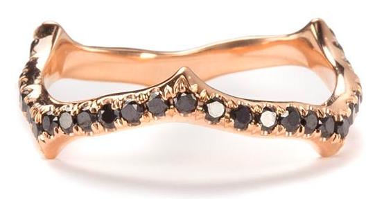 Nora Kogan Black stem ring