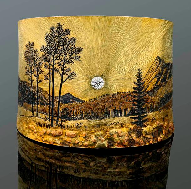 Rocky Mountains Memories bracelet Wolfgang Vaatz