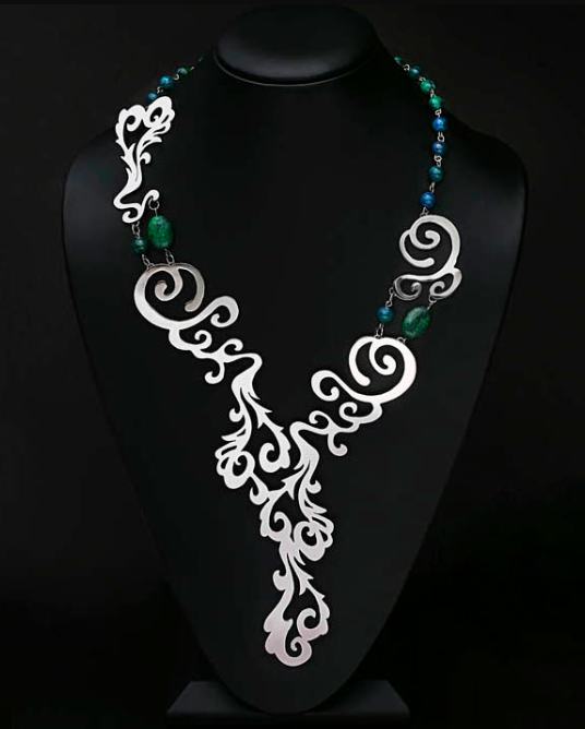 Waterfall necklace Peyton Rogers