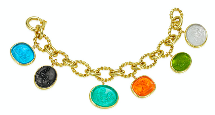 Mazza Company murano glass bracelet