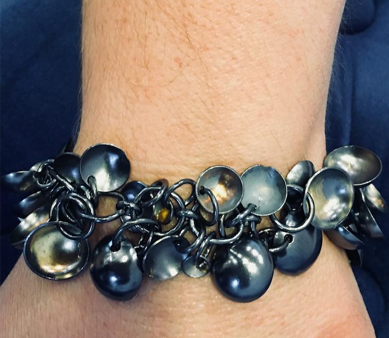 Tara Hutch Argentium silver bracelet