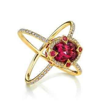 Erica Courtney Saturn ring