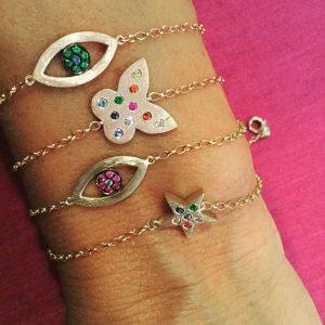 Shelly Zucker bracelets via @shellouch