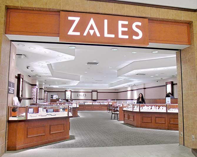 Zales store interior