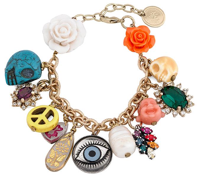anton heunis maia charm bracelet