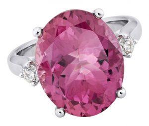 artistry pink tourmaline ring