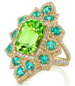 erica courtney paraiba tourmaline etoile ring