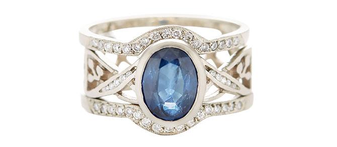 jennifer dawes relic sapphire ring