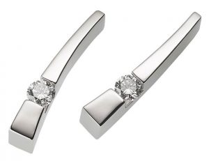 john atencio polar diamond earrings