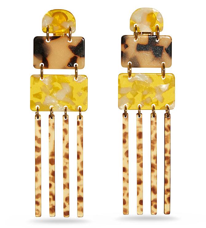 lele sadoughi carnival earrings
