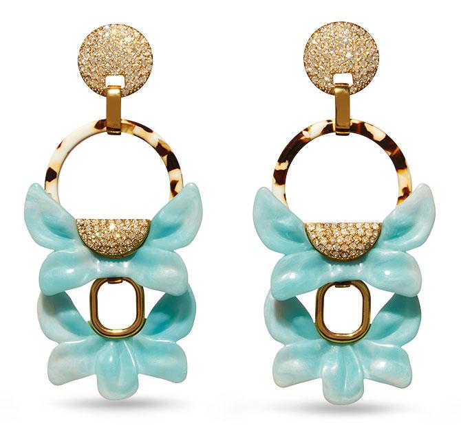 lele sadoughi rio earrings
