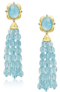 mazza aquamarine earrings
