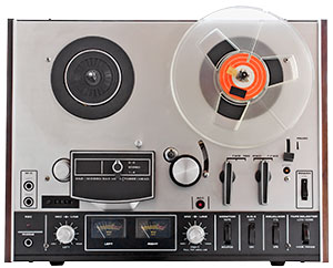 old fashioned tape deck