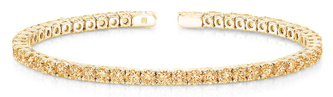 rahaminov yellow diamond bracelet