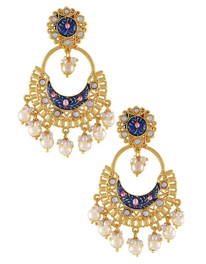 tribe by amrapali earrings