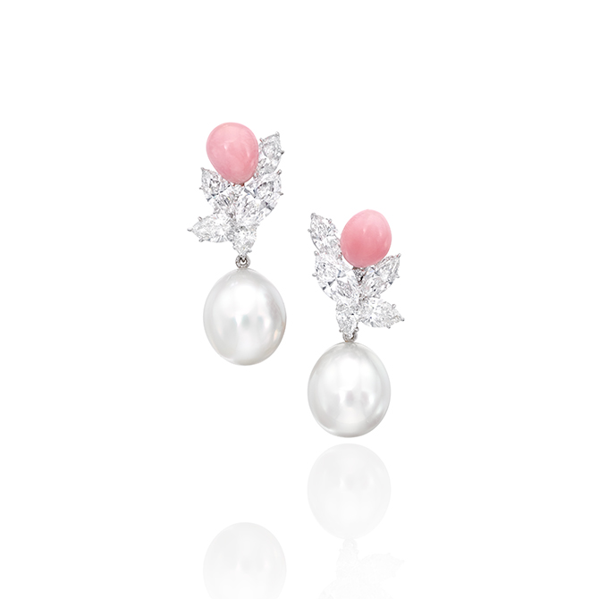 Assael conch pearl earrings