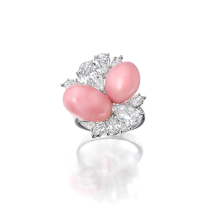 Assael conch pearl ring