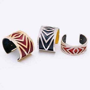 Les Georgettes cuff bracelets