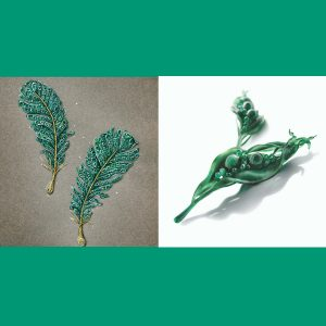 Cindy Chao brooch rendering and mold