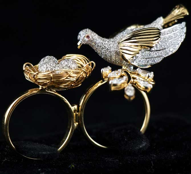 Da Ring Maker Bird ring