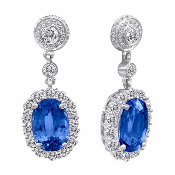 Dev Valencia sapphire earrings