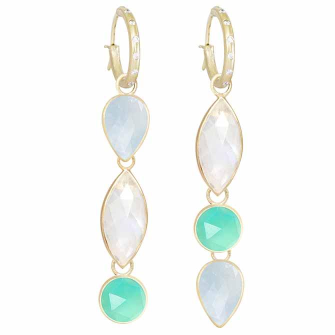 Nina Nguyen interchangable earrings