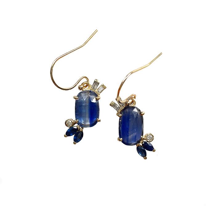 Eva Noga kyanite earrings