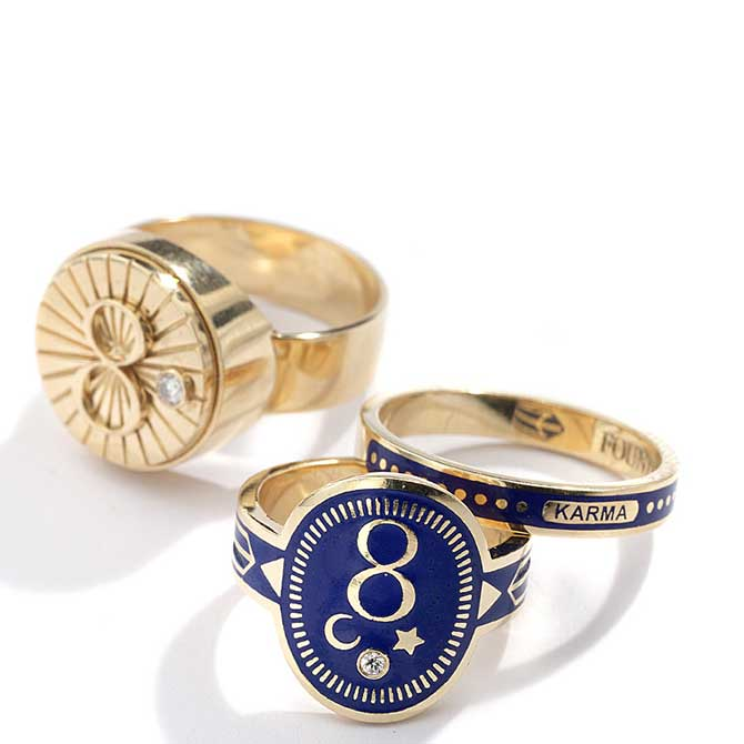 Foundrae numerology rings
