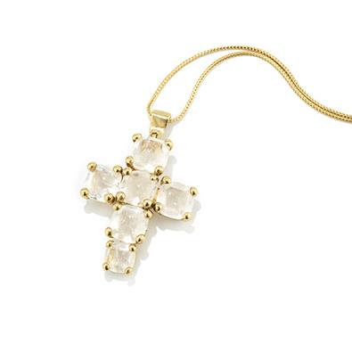 Goossens rock crystal pendant