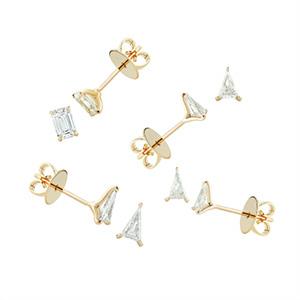 Jennifer Fisher Diamond Foundry earrings